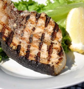 Grill-Salmon